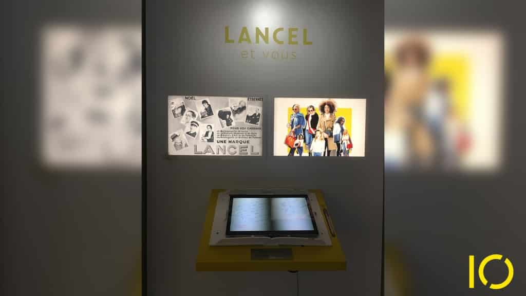 Installations Interactives LANCEL